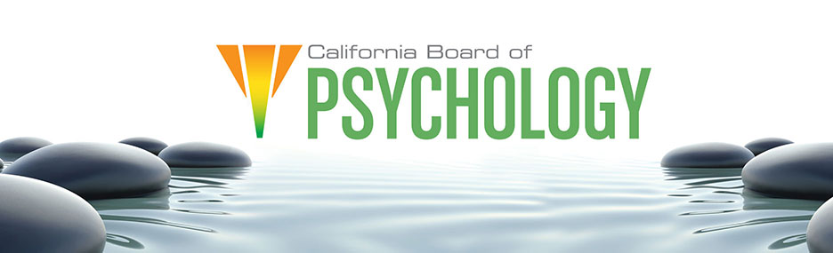California Board of Psychology
